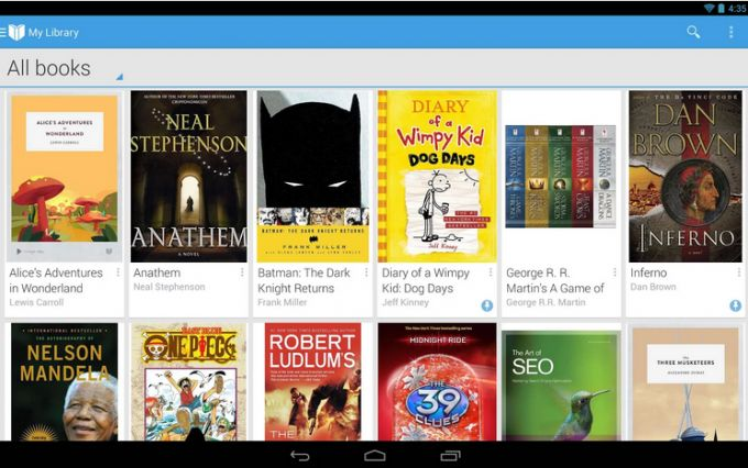 Google Play Books ya disponible en múltiples países de Latinoamérica http://www.elandroidelibre.com/2014/06/google-play-books-ya-disponible-en-multiples-paises-de-latinoamerica.html