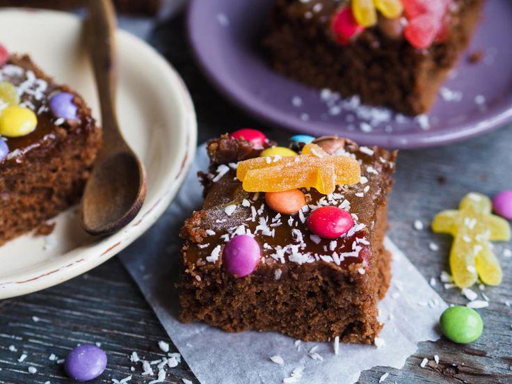 Ida Gran Jansens langpanne-sjokoladekake
