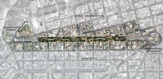 México: Parque Elevado Chapultepec, proyecto catalizador para generar comunidad en la Ciudad de México,