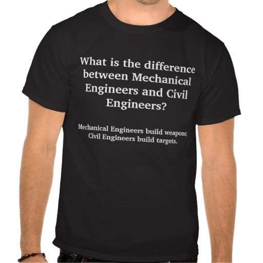 What is the difference between Mechanical Engin... T Shirt