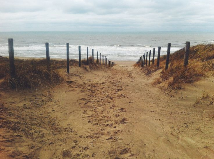 Made by me. #Noordwijk #beach #sea