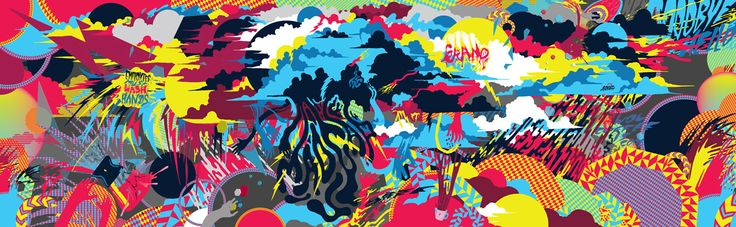 Madcap Coffee Bathroom Murals on Behance