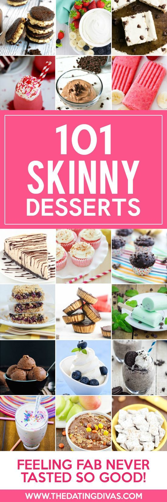 Low-calorie AND tasty desserts and treats?? I'm there!