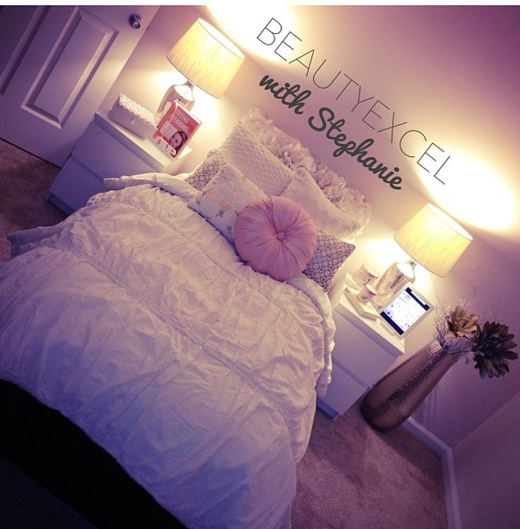 exciting cute girly bedroom ideas | 277 Best images about College Spaces (Girly) on Pinterest ...