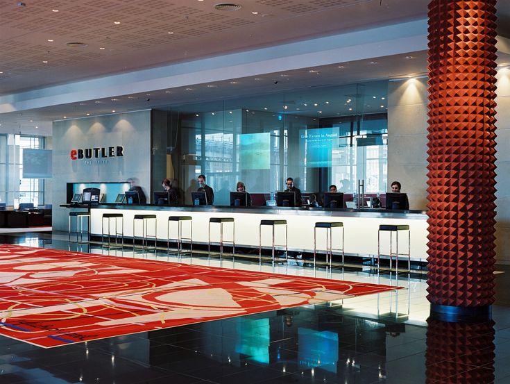 Westin Cape Town Reception. Interior design by Source Interior Brand Architecture.