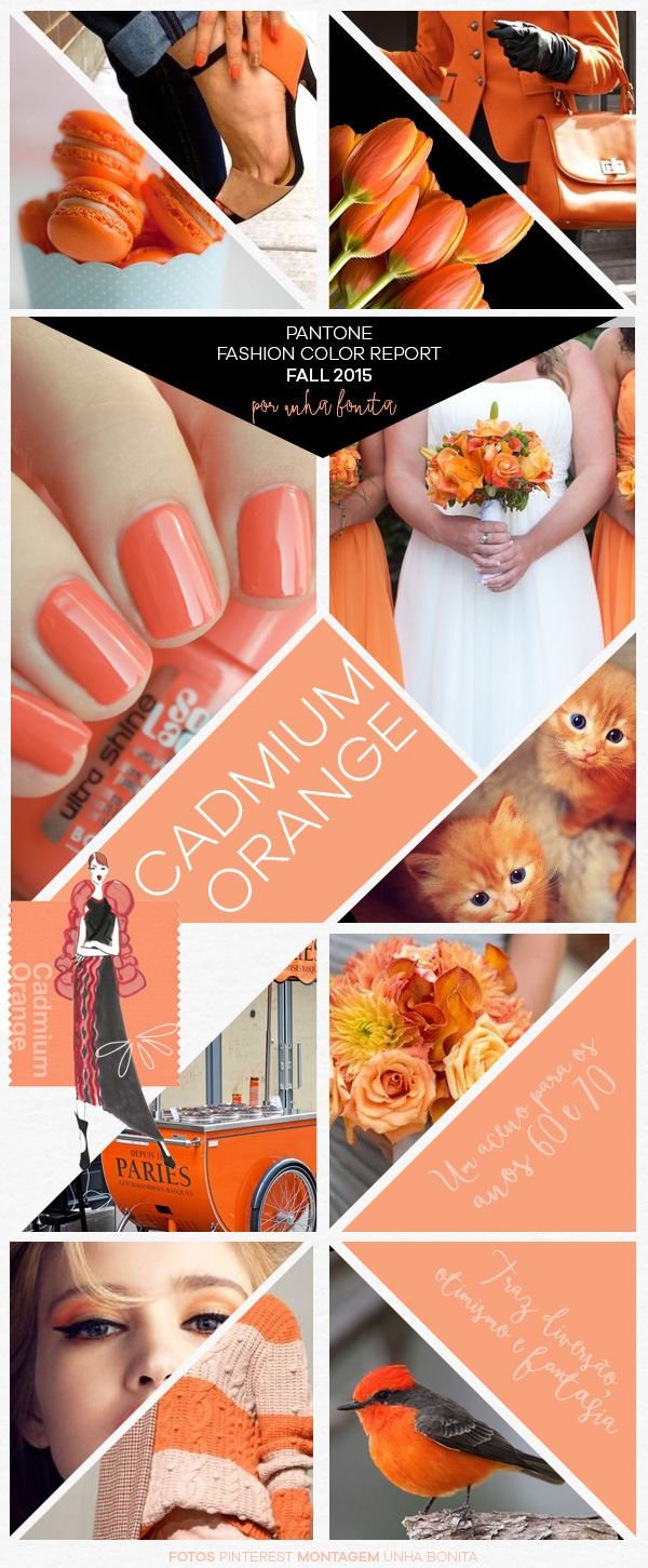 Pantone Fashion Color Report Fall 2015 Cadmium Orange
