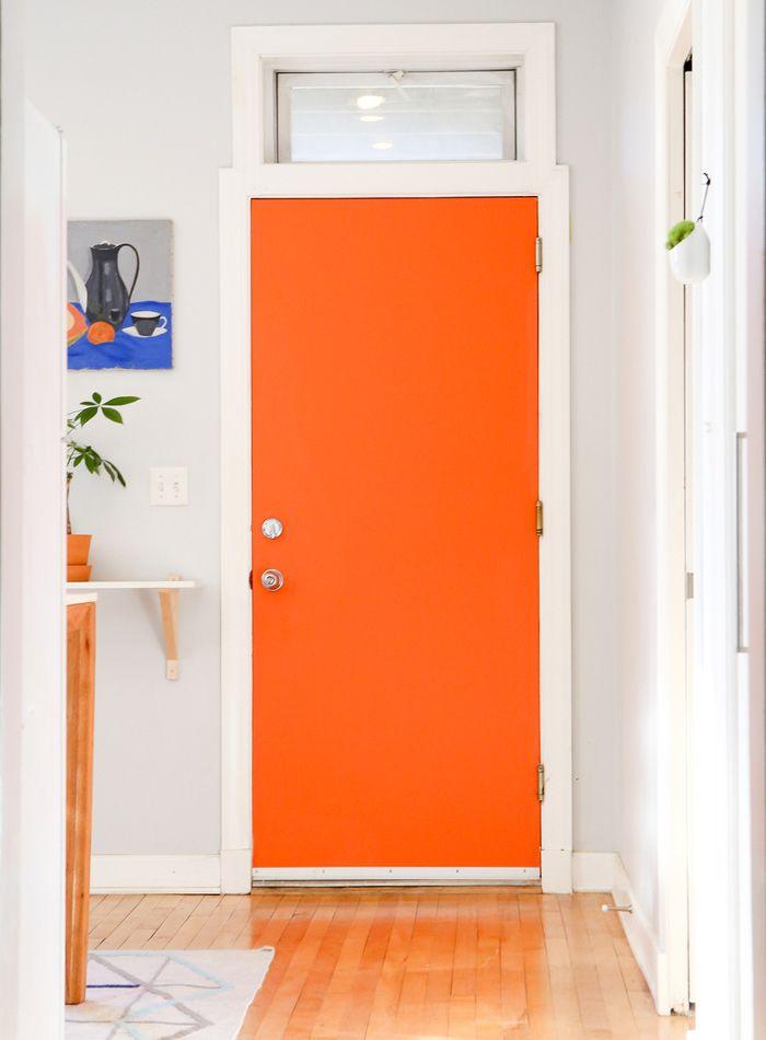 Best 25 Orange Door Ideas On Pinterest Orange Front