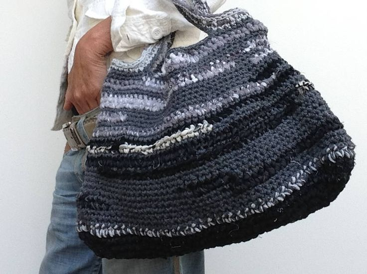 Crochet bag, handmade, shoppingbag, boho, Ibiza, strandtas, festival, design, fashion, gift, tas, door DODOORDO op Etsy