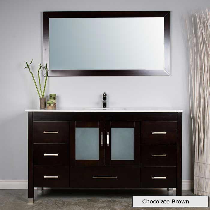 Bathroom Vanity Remodel, Long Mirrored Vanity Cabinets