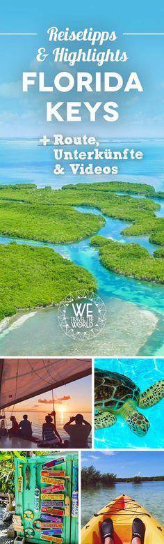 Florida Keys Reisetipps: Die besten Florida Keys Sehenswürdigkeiten, Highlights, Aktivitäten und Insidertipps für deine Florida Keys Reise