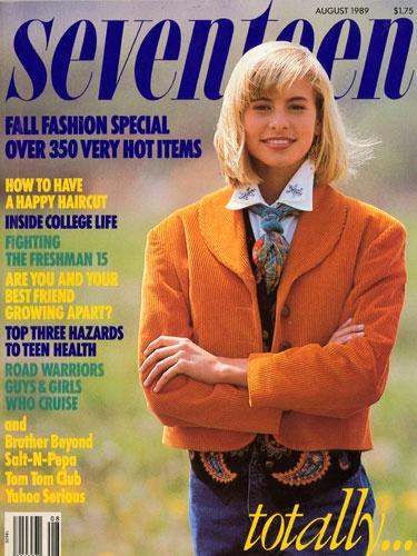 Loved this: Childhood Memories, 1989 Covers, Aug 1989, Memories Lane, Seventeen Magazines, Niki Taylors, Nikki Taylors, Magazines Covers, August 1989