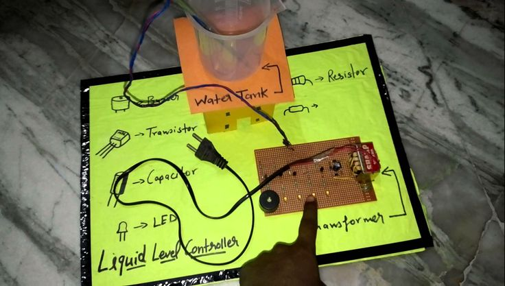 How to make working model for science exhibition-water level indicator