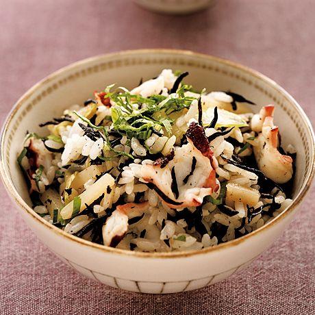 たことひじきの混ぜご飯 | 柳原るりさんのごはんの料理レシピ | プロの簡単料理レシピはレタスクラブネット