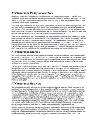 ATV insurance Policy in New York  When you search for 4 wheelers for sale on the web. So far as purchasing an ATV that's been advertised on the web is bothered, the very first impression counts an entire lot. As easy it's to seek out an ATV for the sale on the World Wide Web. Now it is easy to learn how to seek out an ATV for sale easily on the World Wide Web. #atv #insurance