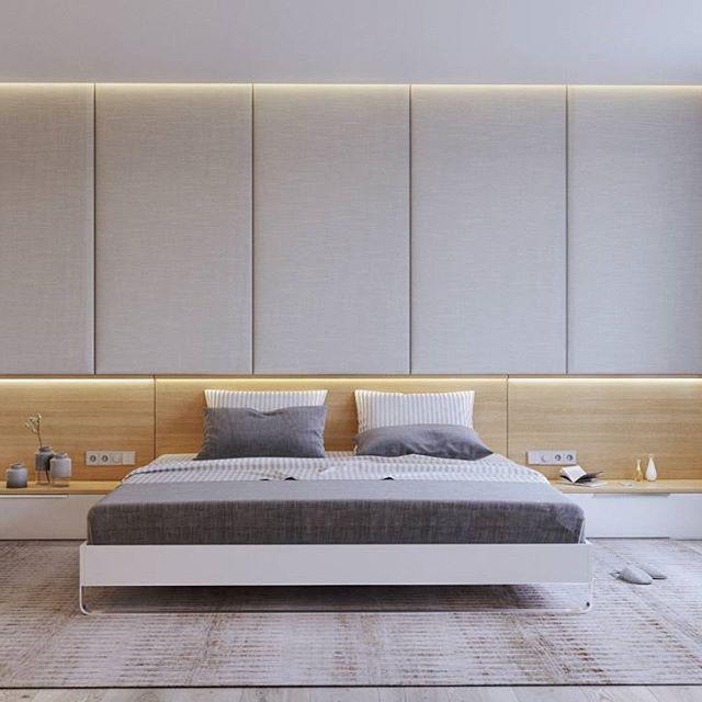 Люблю когда проекты сдаются) продолжаю финалить квартиру для студии @artfamily63.  Утвержденный вариант хозяйской спальни.  #спальня #интерьер #интерьерспальни #дизайн #дизайнинтерьера #дизайнспальни#виз #визуализация #рендер #корона#design #interiordesign #interior #bedroom #bedroominterior #viz #visualization #render #corona_render #corona #domracheva_ekaterina
