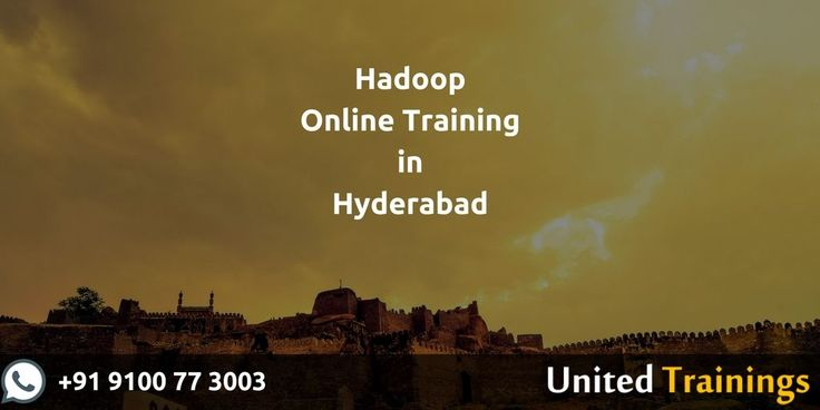 Big Data Hadoop training course in Hyderabad  lets you master the concepts of the Hadoop framework and prepares you Big data certification. With our online Hadoop training, you'll learn how the components of the Hadoop ecosystem, such as Hadoop 2.7, Yarn, MapReduce, HDFS, Pig, Impala, HBase, Flume at UnitedTrainings.com