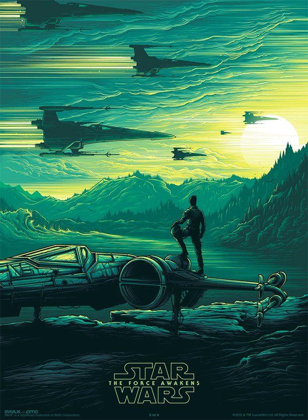 Otro cartel de Star Wars: El Despertar de la Fuerza para su estreno IMAX