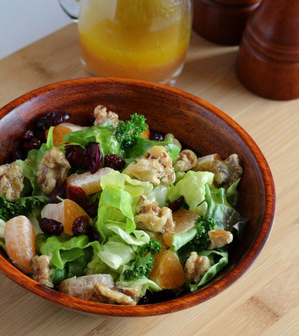 ... walnuts candied walnuts easy salads winter salad salad ideas salad bar