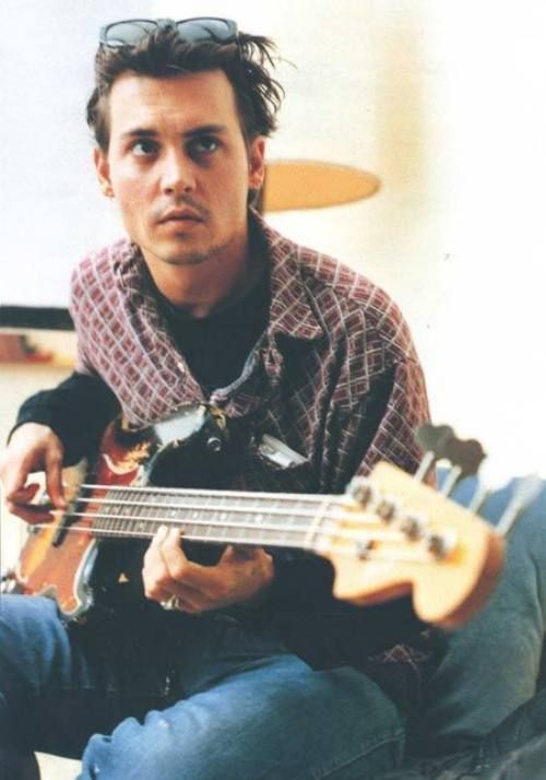 Johnny Depp, he loves playing the guitar, but hates to dance unless it is for a movie he is making