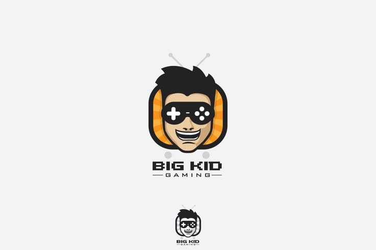 Big Kid Gaming Logo Concept