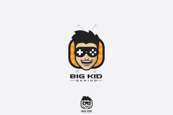 Big Kid Gaming Logo Concept