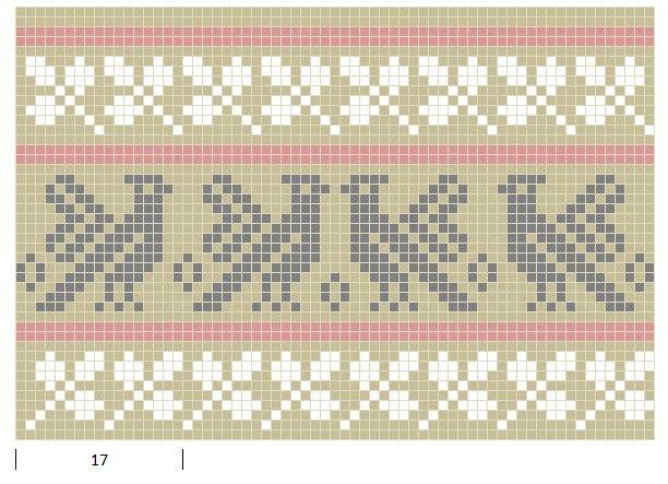 Mustrilaegas: Kirjatud muster / Patterned knits