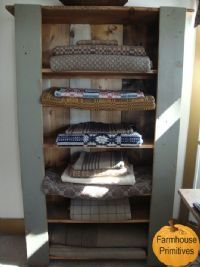 Great Linen Cupboard to hold all of your quilts in!