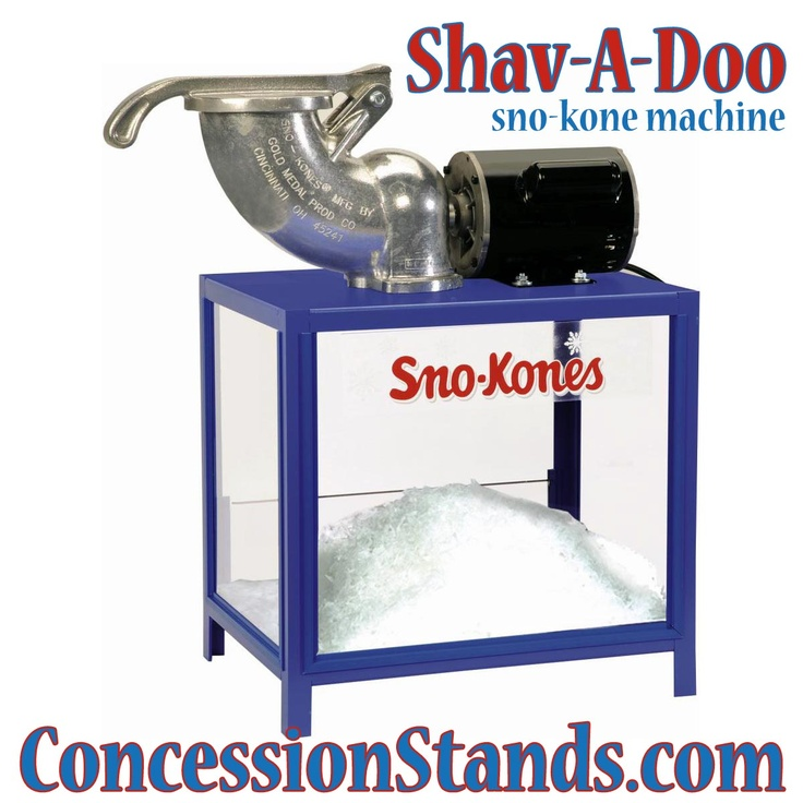 the shavadoo snokone machine is a basic economical snow conesice - Snow Cone Machines