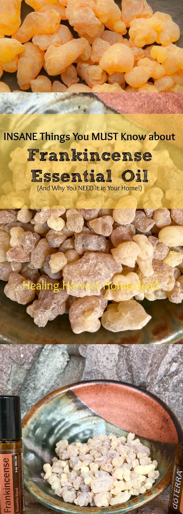 Frankincense Essential Oil is one of the most amazing essential oils out there, and you NEED it in your home! Here's how you can use Frankincense Oil and why you NEED to!