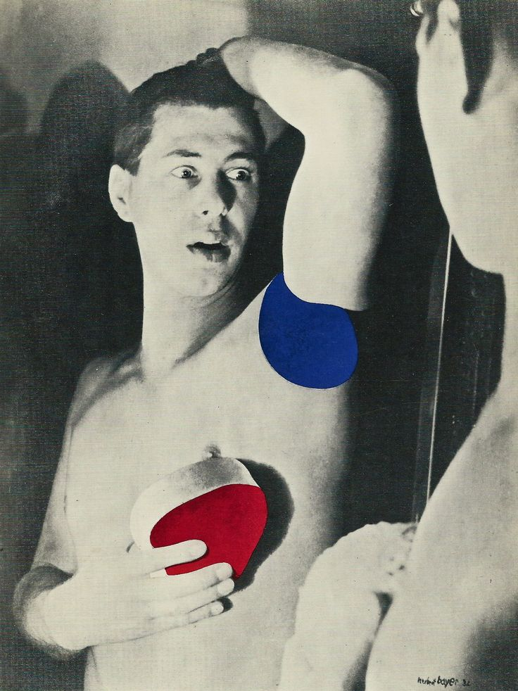 Herbert Bayer - Self portrait                                                                                                                                                                                 Mais