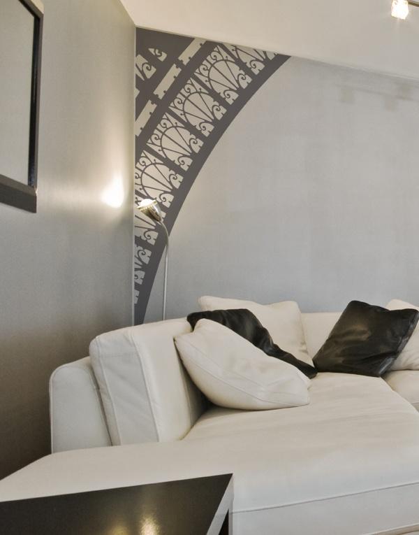 Un Sticker Arche De Tour Eiffel Design Et Modulable Pour Donner Un Côté  Parisien à Votre Appartement Ou à Votre Maison. Du0027horizontal En Vertical Il  Su0027adapte ...