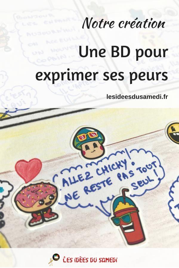 Creer Une Bd Sans Savoir Dessiner Pour Apprivoiser Ses Peurs Creer Une Bd Dessin De Bd Bd Enfant