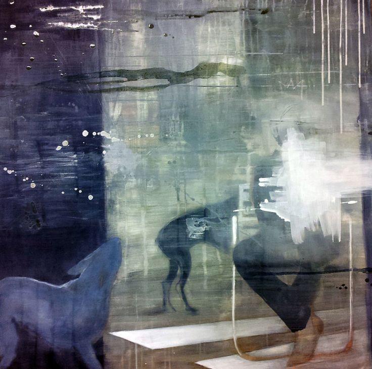 LILLE PRINSEN BY ANNE-BRITT KRISTIANSEN  #fineart #art #painting #kunst #maleri #bilde  https://annebrittkristiansen.com/paintings/2013/
