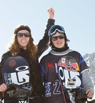 OMG THE FACT THAT SHAUN WHITE IS IN THERE TOO MAKES IT 7x BETTER.