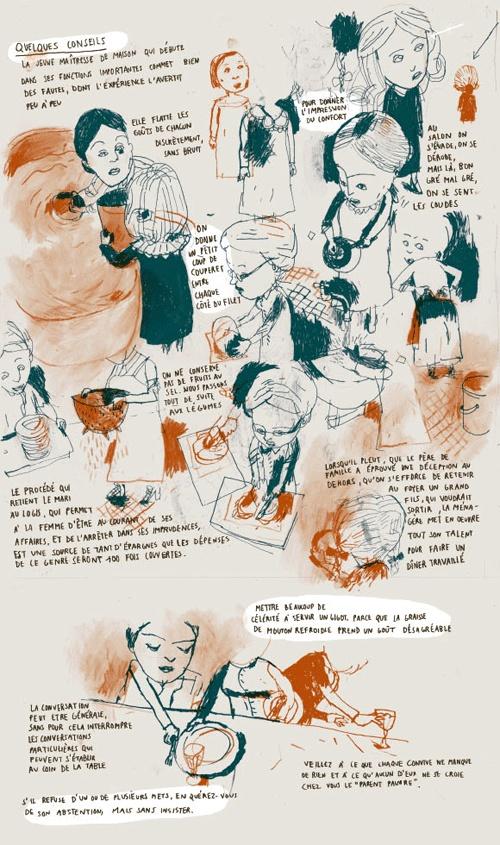 Le calendrier 2007 pour votre cuisine en bandes dessinées - Editions Cambourakis
