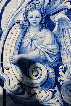 Azulejo tiles. Lamego #Portugal