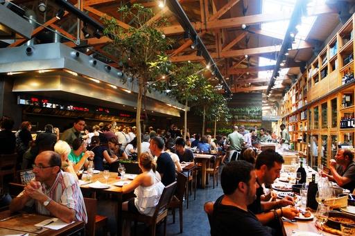 Cuines Santa Caterina, ideal para una comida informal con los amigos.