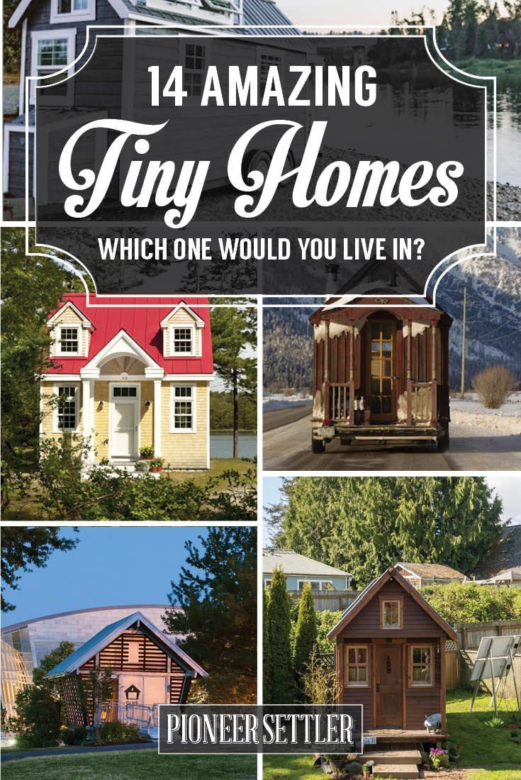 14 Amazing Tiny Homes | Tiny House Ideas by Pioneer Settler http://pioneersettler.com/tiny-homes/