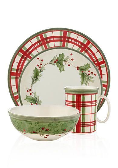 Lenox® Holiday Gatherings Dinnerware Collection - Belk.com  sc 1 st  Pinterest & 161 best Christmas Dinnerware images on Pinterest | Christmas china ...