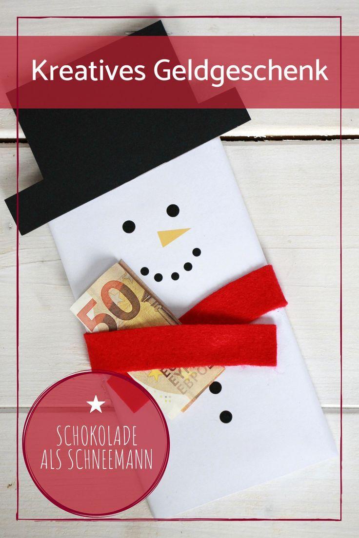 Dankeschon Geschenk Basteln Geldgeschenke Weihnachten Kreativ