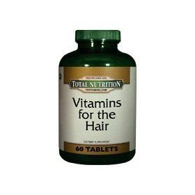 Vitamins For The Hair - 60 Tablets, (hair growth, hair vitamins, black hair growth, black hair, african american hair, black hair care, healthy hair growth, black hair products, ginkgo biloba, inositol)