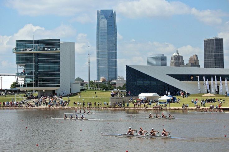 Grab a kayak and hit the Oklahoma River or learn how to row in Oklahoma City's Boathouse District. It has a lot to offer including the Riversport Adventures complex, Oklahoma River Cruises and world class events.