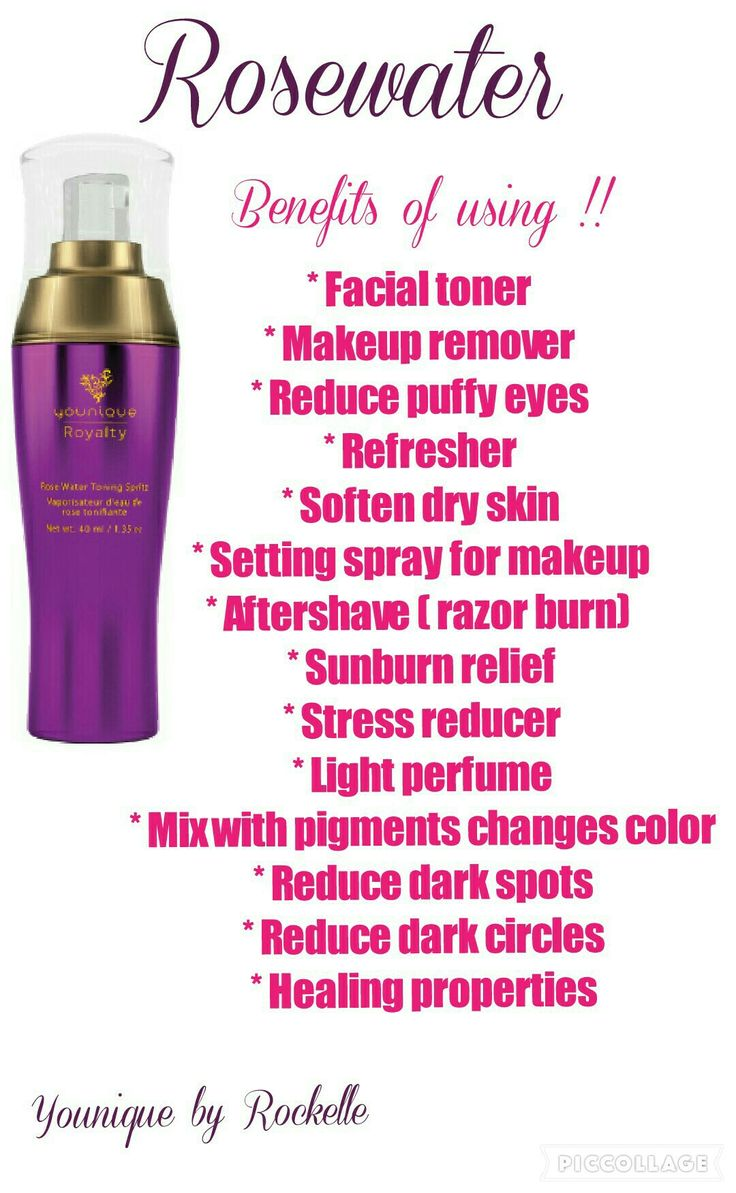 Rosewater!! The game changer!! www.youniqueproducts.com/NitaClegg