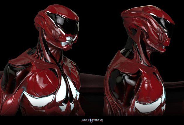 Nuevos Concept Art de Power Rangers 2017