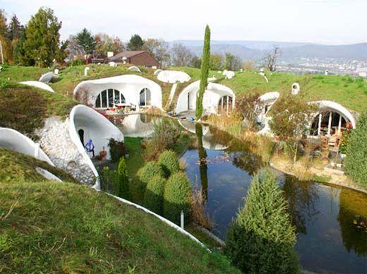 Ondergrondse huizen in beeld (fotospecial) - bouwenwonen.net