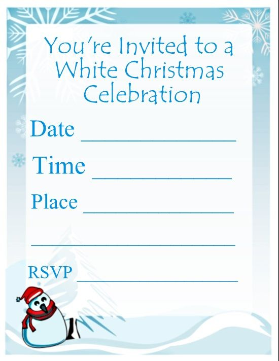 116 best images about Christmas Party Invitations – Free Christmas Invitations Printable Template