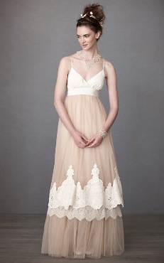 Hippie Wedding Dresses Color Bohemiam modern hippie wedding