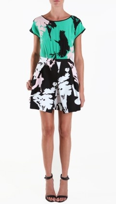 From the Tibi Spring Collection...no one (not even DVF) does prints better than Tibi.