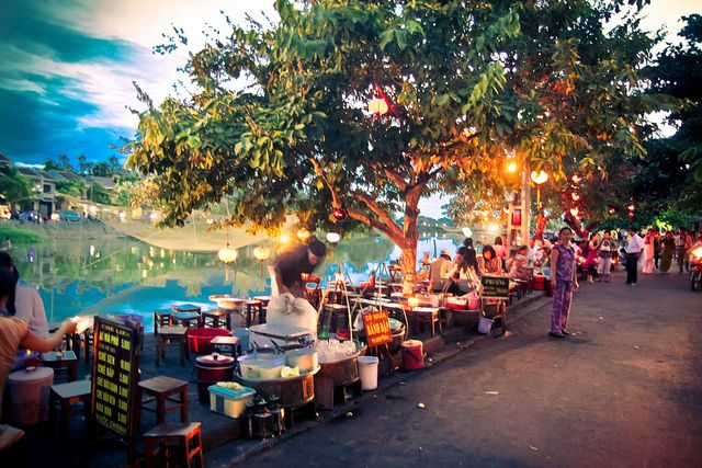 Hoi An...lanterns, canals, french inspiration, FOOD!! Looks like somewhere we have to go!