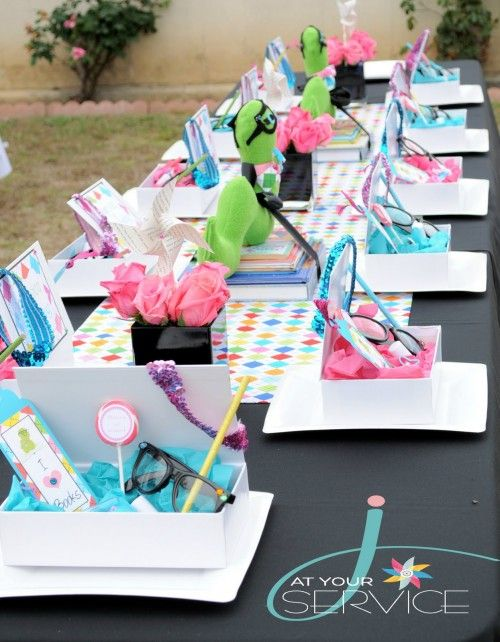 40 Birthday Parties based on Famous Children's Books. Lots of cute ideas!